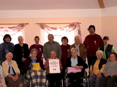 Die glücklichen Senioren, nach der Einladung
