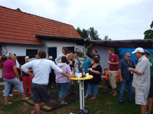 Empfang Sommerfest