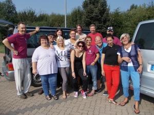 Die Reisegruppe der Tatortreise nach Münster