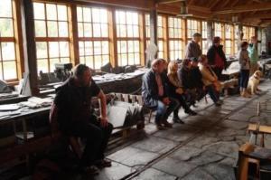Technisches Schiefermuseum schön aufgepasst